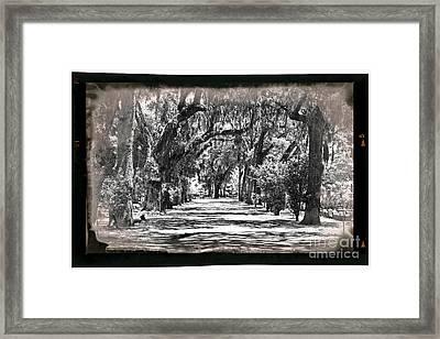 Bonaventure Cemetery Framed Print by John Rizzuto