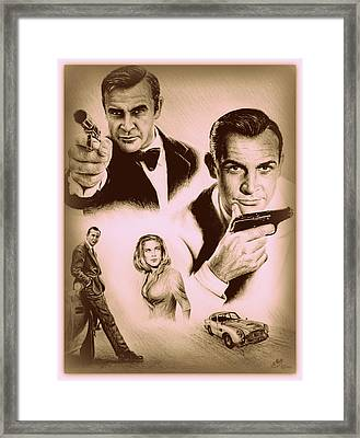 Bond The Golden Years Framed Print by Andrew Read