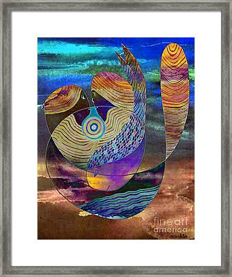 Bonded In Harmony Framed Print by Mukta Gupta