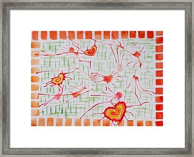 Bonds Of Love Framed Print by Sonali Gangane
