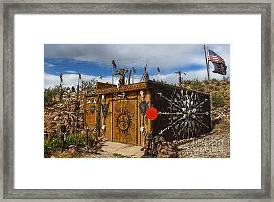 Bone Shack - 02 Framed Print by Gregory Dyer
