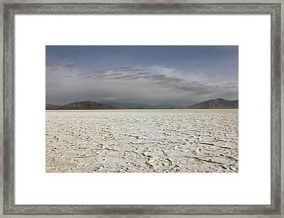 Bonneville Salt Flats Framed Print by Johnny Adolphson