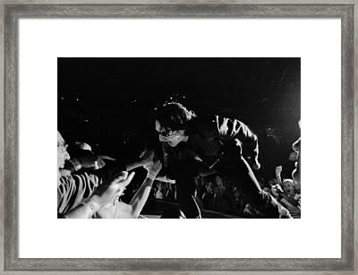 Bono 051 Framed Print by Timothy Bischoff