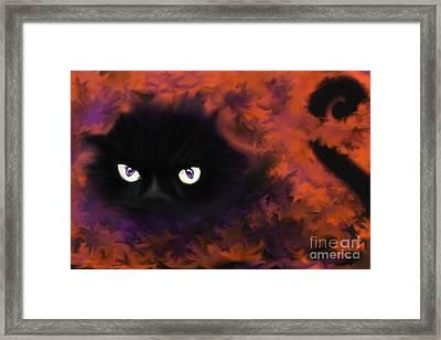 Boo Framed Print by Roxy Riou