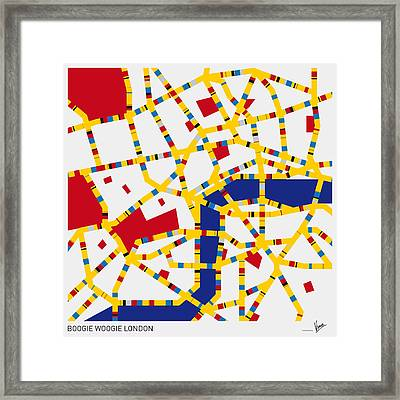 Boogie Woogie London Framed Print by Chungkong Art