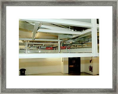 Book Delivery System Framed Print by British Library