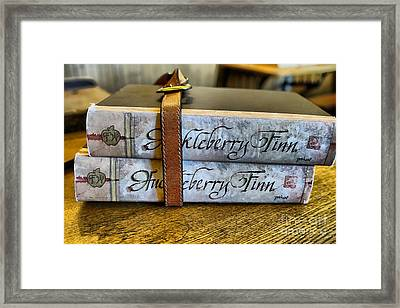 Book Strap Framed Print by Cheryl Young