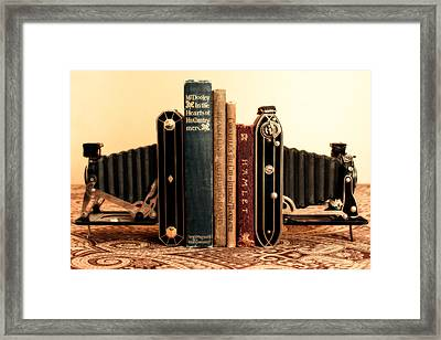 Bookends Framed Print by Jon Woodhams