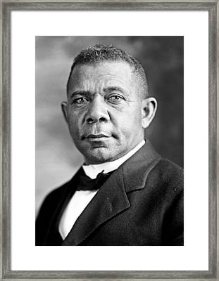 Booker T Washington Framed Print by Mountain Dreams