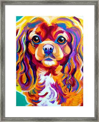 King Charles - Boonda Framed Print by Alicia VanNoy Call