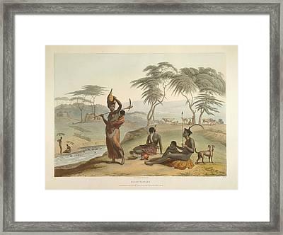 Boosh Wannah's Framed Print by British Library