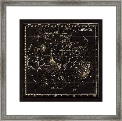 Bootes Constellations, 1829 Framed Print by Science Photo Library