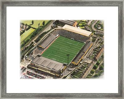 Boothferry Park - Hull City Framed Print by Kevin Fletcher