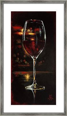 Bordeaux After The Show Framed Print by Marco Antonio Aguilar