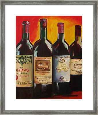 Bordeaux Framed Print by Sheri  Chakamian