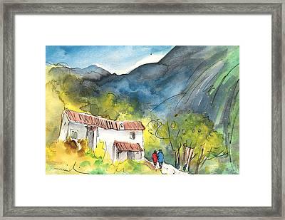 Borgo In Italy 01 Framed Print by Miki De Goodaboom