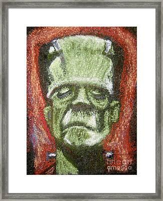 Boris Karloff Framed Print by Seamus Corbett