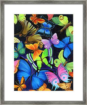 Born Again Framed Print by Nancy Cupp
