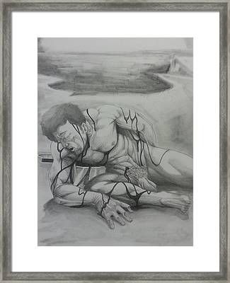 Born Again Pt. 4...new Creature Framed Print by Michael Briggs