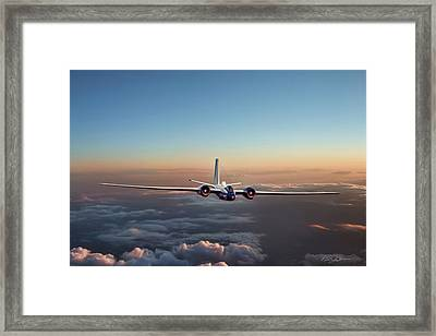 Born Again Wb-57f Framed Print by Peter Chilelli