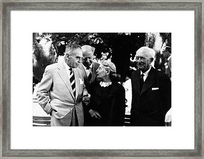 Born Framed Print by American Philosophical Society