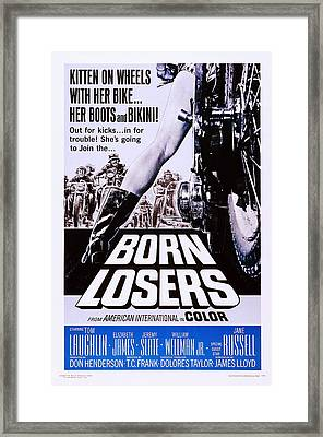 Born Losers, Aka The Born Losers, Us Framed Print by Everett