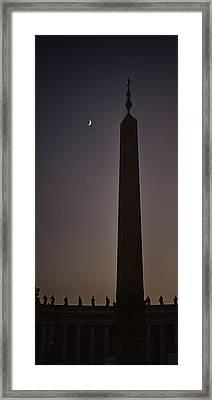 Borrowed Splendor Framed Print by Joan Carroll