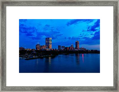 Boston Evening Framed Print by Rick Berk