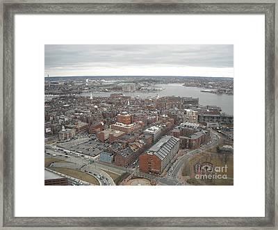 Boston Framed Print by Michelle Welles
