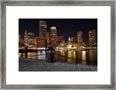 Boston Odyssey  Framed Print by Juergen Roth
