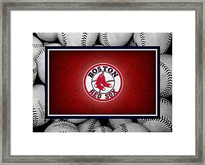 Boston Red Sox Framed Print by Joe Hamilton