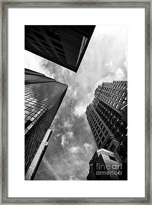 Boston Rising Framed Print by John Rizzuto