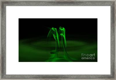 Botanical Life Force Framed Print by Peter R Nicholls
