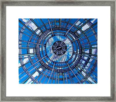 Botanical Looking Up Framed Print by Grace Liberator