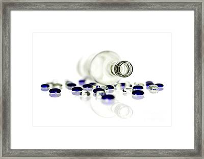 Bottle Framed Print by Blink Images