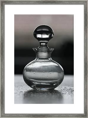 Bottle Framed Print by Joy Watson