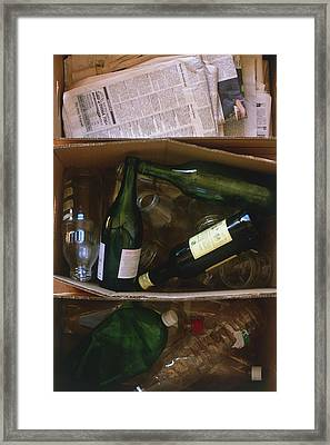 Bottles Framed Print by Dorling Kindersley/uig