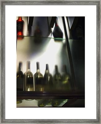 Bottles II Framed Print by Anna Villarreal Garbis