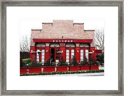 Bouchon Framed Print by Bob Wantz