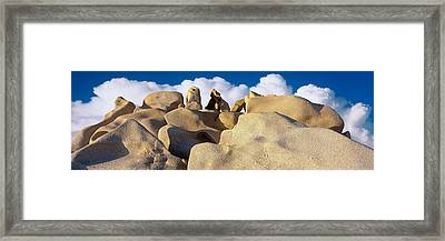 Boulders, Lands End, Cabo San Lucas Framed Print by Panoramic Images