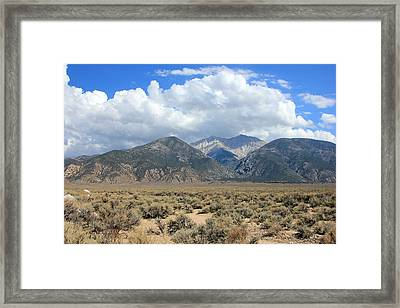 Boundary Peak  Framed Print by Johnny Adolphson