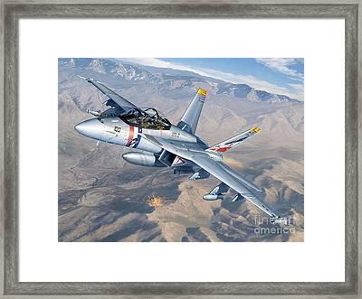 Bounty Hunters Over Afghanistan Framed Print by Stu Shepherd