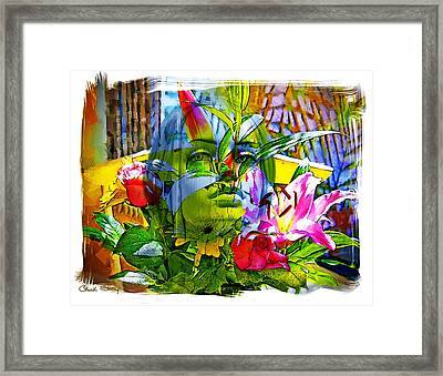 Bouquet Framed Print by Chuck Staley