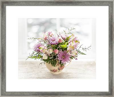 Bouquet Framed Print by Elena Elisseeva