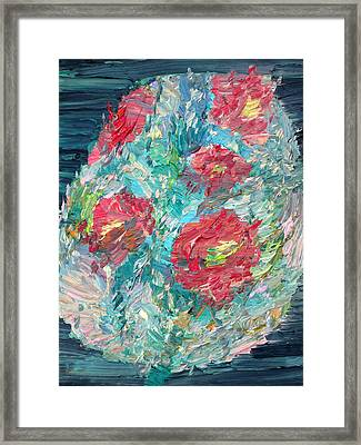 Bouquet Framed Print by Fabrizio Cassetta