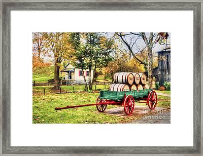 Bourbon Framed Print by Darren Fisher