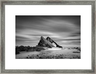 Bow Fiddle Rock 2 Framed Print by Dave Bowman