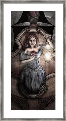 Bow Maiden Framed Print by April Moen