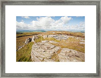 Bowland Knotts Framed Print by Ashley Cooper