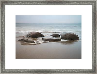 Bowling Ball Beach Framed Print by Francesco Emanuele Carucci